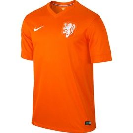 Holland (Netherlands) 2014 FIFA World Cup Home Jersey is a vibrant orange color for the runners up of the previous Wold Cup competition, can it be a win this year? http://www.soccerbox.com/11211
