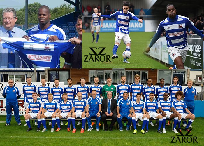 Zaror Sports is the best football kit designer and supplier in UK, known to be as the official football kit suppliers for NUNEATON TOWN FC. Zaror Sports help you to design your own football kits for your team using 3d football kit designer! http://www.zaror.co.uk/football-design-kit.php