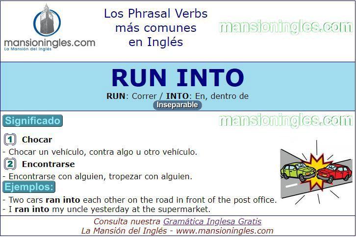 verbo run en ingles significado