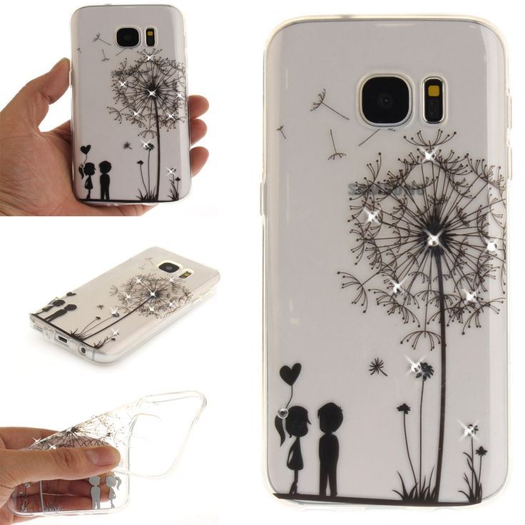 Rhinestone Case For Samsung Galaxy S8 S8 S8 Plus S7 S7 edge 2017 New Arrival Glitter. Click visit to buy #RhinestoneCase #rhinestone #case