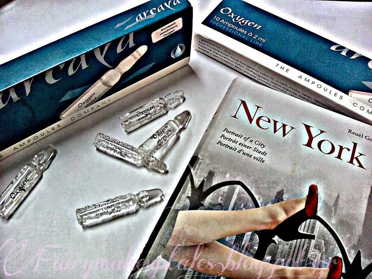 Fairy #make-up tales . . . . : Win an Oxygene from #Arcaya!