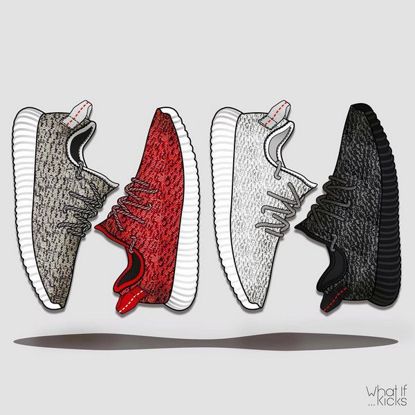 YEEZY BOOST 350 are like Ferrari: THEY DRIVE GUYS CRAZY!!! #adidas · Yeezy  SneakersYeezy BoostShoe IllustrationArt IllustrationsSketch ...