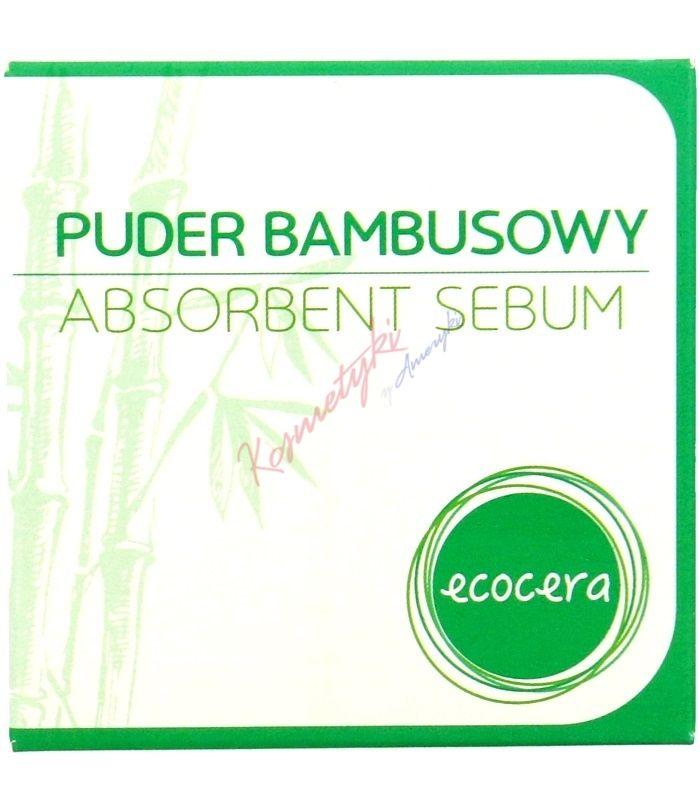 14,99zł kosmetykizameryki.pl Ecocera Puder Bambusowy Absorbent Sebum 8g