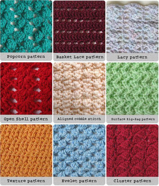 Crochet Stitches   Easy Crochet Patterns