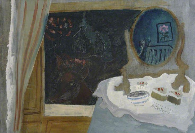 ben nicholson(1894–1982), 1930 (christmas night), 1930. oil & graphite on canvas, 63.5 x 94 cm. kettle's yard, university of cambridge, uk http://www.bbc.co.uk/arts/yourpaintings/paintings/1930-christmas-night-139696