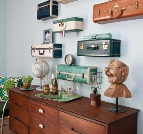 Creative Ways to Repurpose Old Suitcases
