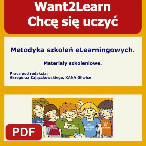 Chcę się uczyć. Metodyka szkoleń elearningowych | EDU PUBLIKACJE