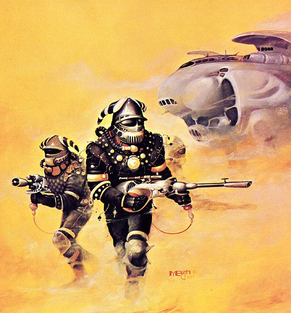 459 Best Retro Future Character Images On Pinterest: Melvyn Grant - Space Vikings