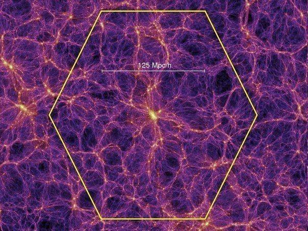 За «тёмной материей» может стоять переход в другую Вселенную