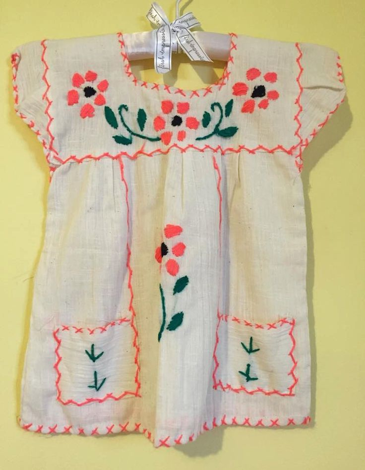Baby mexican blouse embroidered handmade flowers coral blouse hippie top fashion mexican party frida kahlo traditional day of the dead by Miamorcitocorazon on Etsy
