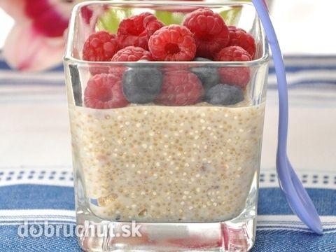Vanilková quinoa