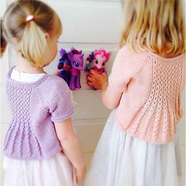 knitting: Marian Shrug by Taiga Hilliard Designs on the LoveKnitting blog