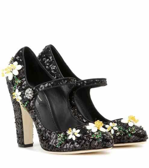 Embellished Mary Jane pumps | Dolce & Gabbana