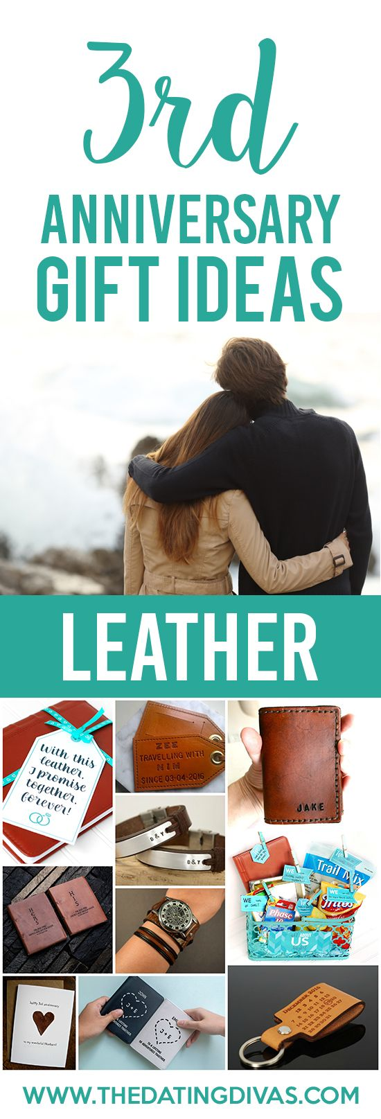 3rd Anniversary Gift Ideas for your Leather anniversary!