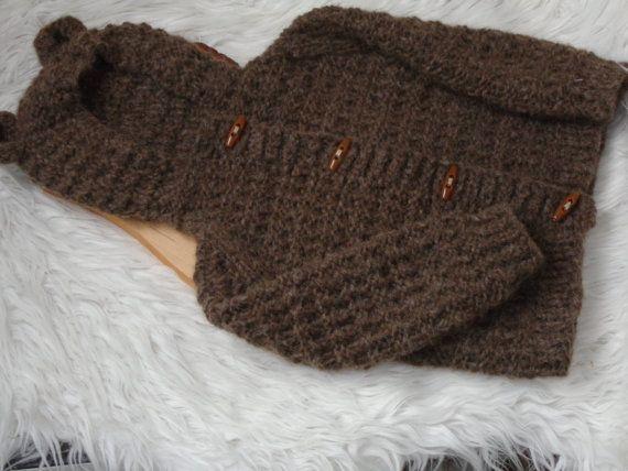 Size 12/18 month.Newborn Jacket.Baby Jacket.Newborn by knitsdwarfs