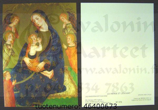 La Vierge et L´enfant, Serra