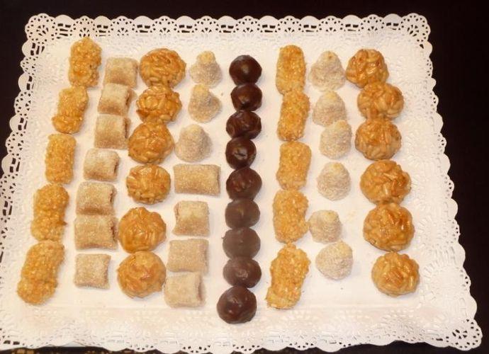 Panellets variados para #Mycook http://www.mycook.es/receta/panellets-variados