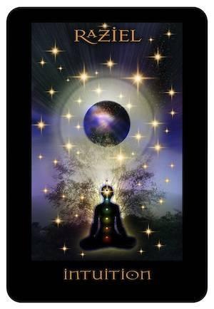 Archangel Raziel. Archangel of clairvoyance.