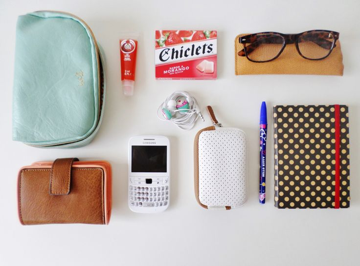 what's on your bag? :)
