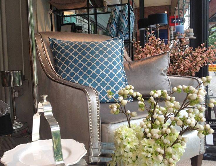 Mialiving moroccan aqua pillows #MIALIVING #pillows Photo was taken in @华华 GREY New York Style Interiors Warsaw