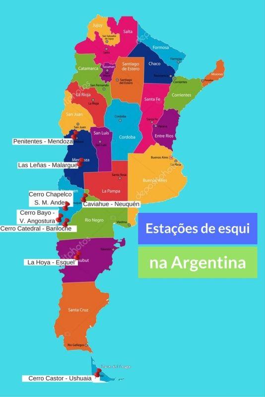 Estações de esqui da Argentina