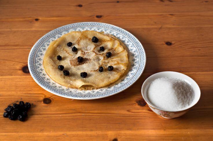Frasiga ägg- och mjölkfria pannkakor - recept