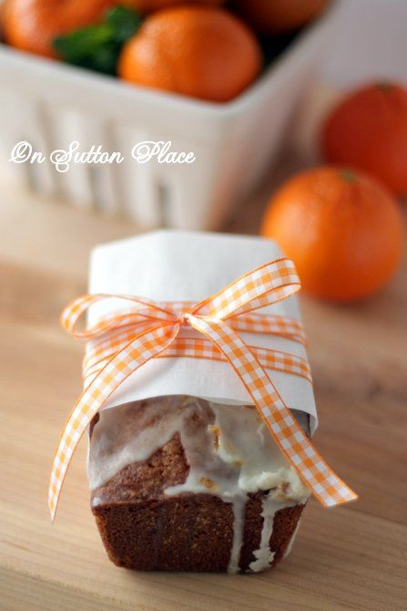 Glazed Orange Bread Recipe