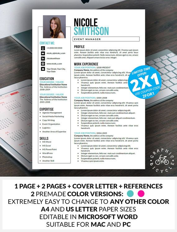 26 best resume templates images on Pinterest Resume templates - combination resume templates