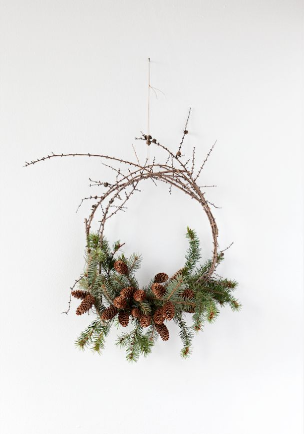foraged wreaths - behind-the-scenes — The Marion House Book
