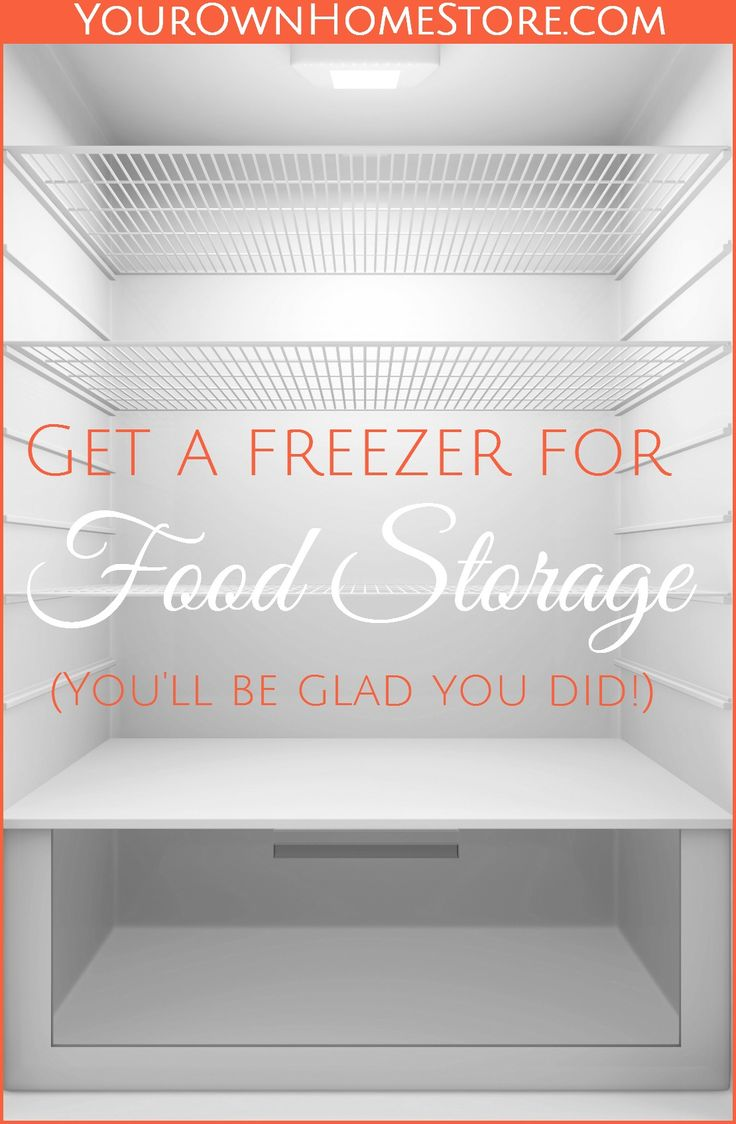 Using your freezer for food storage is smart. Come learn why! I'll also show you how to do it and what to do if the power goes out.