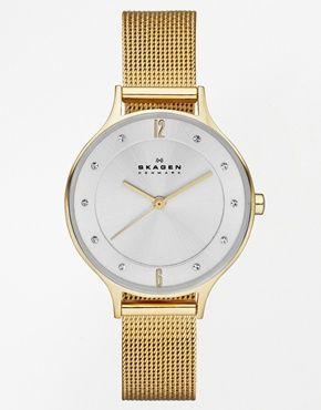 Skagen SKW2150 Anita Gold Watch