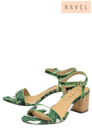 0ebb644b84a Buy Ravel Mid Heel Ankle Strap Sandals from Next Israel