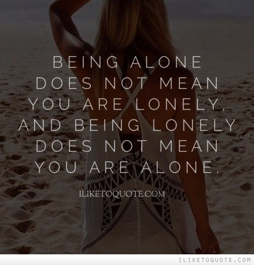Not lonely anymore dating