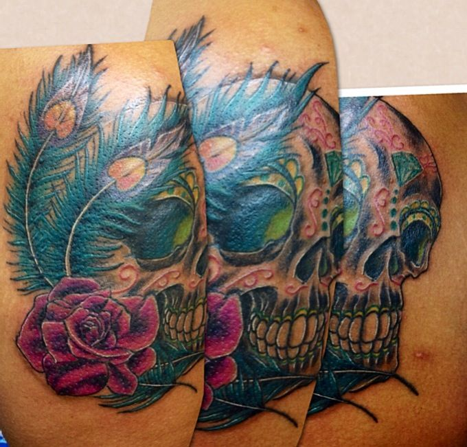100 ideas to try about colorful tattoos on dark skinned for Wicked ways tattoo