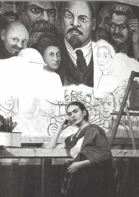 50 best frida images on pinterest mexico city diego for Diego rivera lenin mural