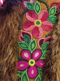 Image result for beaded moosehide