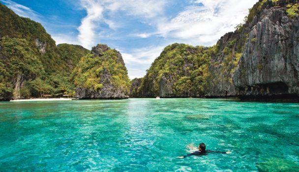 AMWTOUR TRAVEL BLOG: Pulau Coron, Kembaran Phi-Phi Island di Filipina