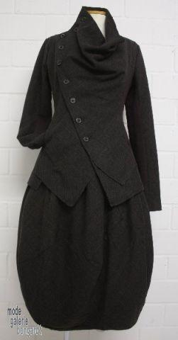 """www.modegalerie-bongardt.de - rundholz mode, rundholz black label, Rundholz DIP Rundholz black label winter 2014 asym. jacket """"alpaca-wool-m..."""
