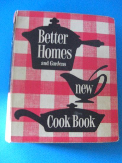 Better Homes And Gardens New Cookbook 1953 Print Magazines Back Issues Pinterest