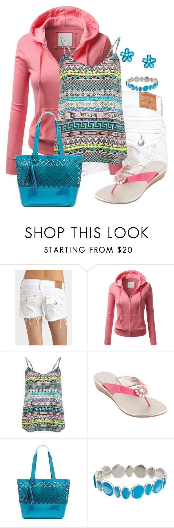 """""""Cool Summer Evenings"""" by jennifernoriega ❤ liked on Polyvore featuring True Religion, J.TOMSON, Miss Selfridge, Lindsay Phillips, BUCO and Pilgrim"""