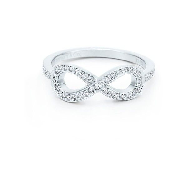 Tiffany Infinity Ring I would adore something like this as a promise ring