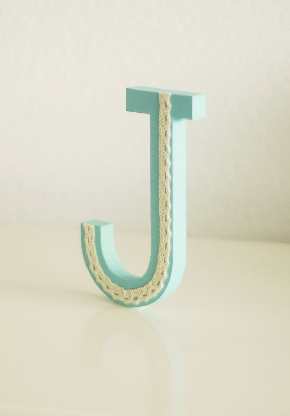 Free standing wooden letter mdf letter 15cm/6 by LoudFairy on Etsy