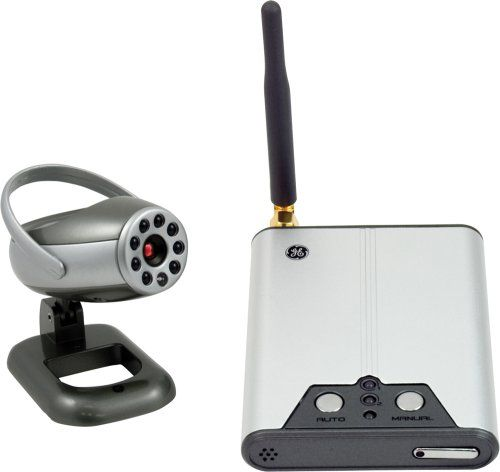 Special Offers - GE 45234 Wireless Video Camera and Receiver System - In stock & Free Shipping. You can save more money! Check It (May 20 2016 at 09:45PM) >> http://smokealarmsusa.net/ge-45234-wireless-video-camera-and-receiver-system/