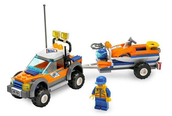 LEGO Coast Guard 4x4 and Dive Boat