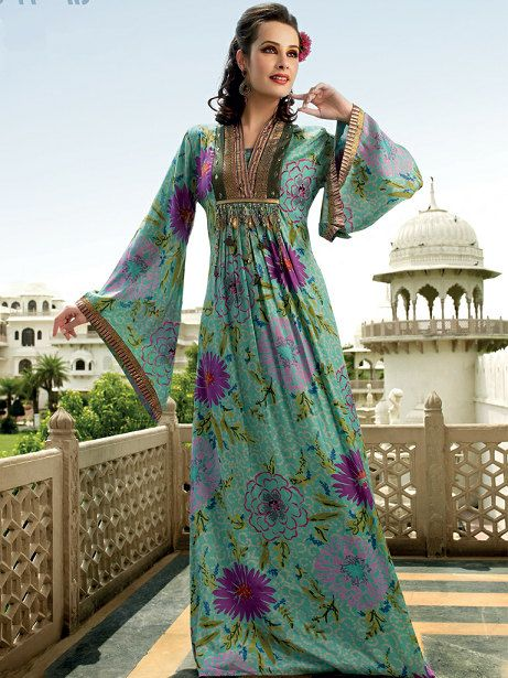 arabic jalabiya kaftan dress  caftan by Orientalstore on Etsy, $165.00