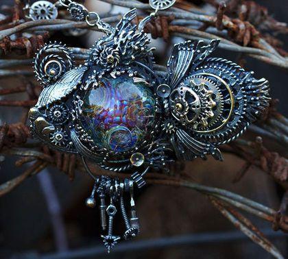 Мегатехнорыба - украшение,Украшение ручной работы,купить подарок,подарок