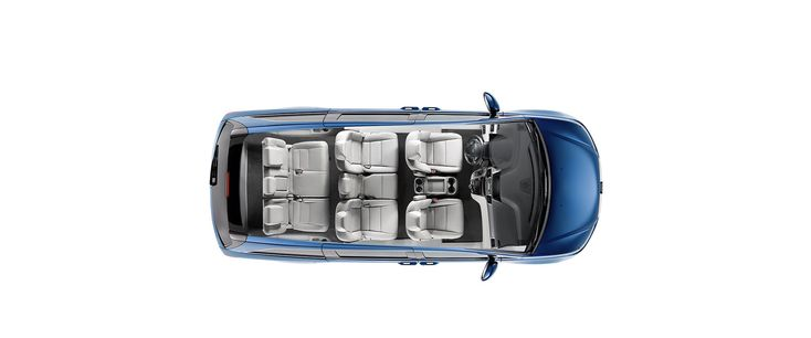 For easier access to the third row, just pull a lever and the 2nd-row seat moves forward to create extra space  #HoehnHonda #Carlsbad #CA #2016 #Honda #Odyssey #Van #Family
