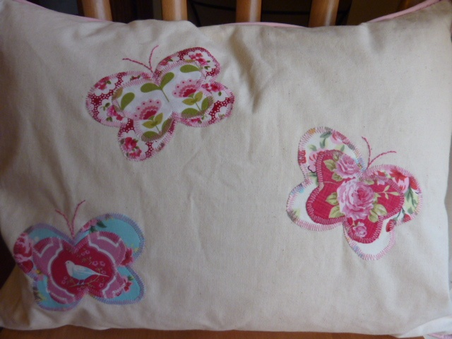 Personalised pillow - back