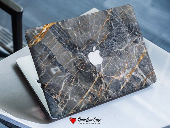 Marble macbook case brown rock case gift for him marble macbook case Pro 15 felt case Notebook Cover