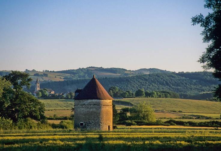 Allier - La vallée de la Sioule - Près d'Ebreuil